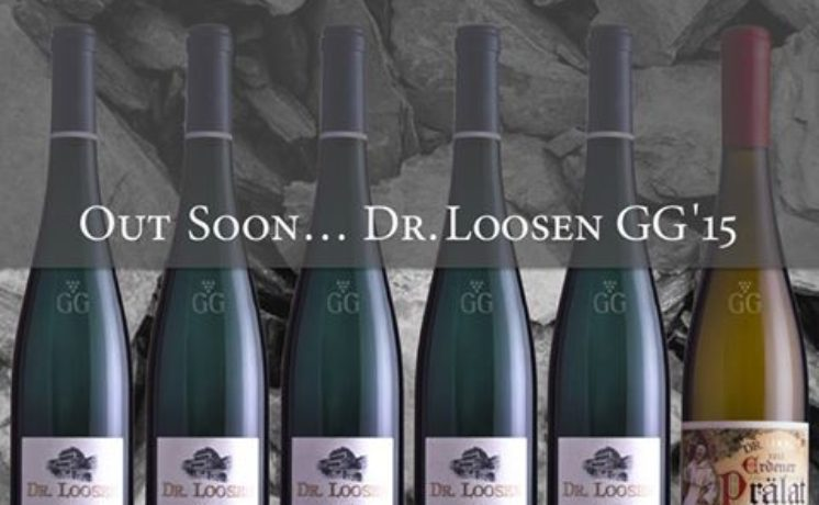 Dr. Loosen Releases New 2015 Vintage GG Rieslings