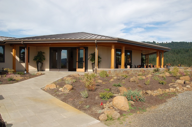 New Tasting Room at J. Christopher Wines in Newberg, Oregon