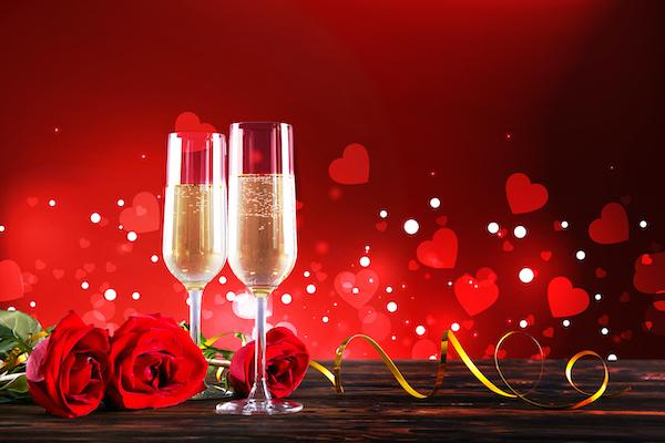 Valentine photo header for Loosen Bros USA wines